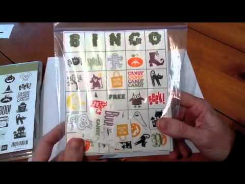 Cool paper Crafts: How to Make a Spooky Bingo