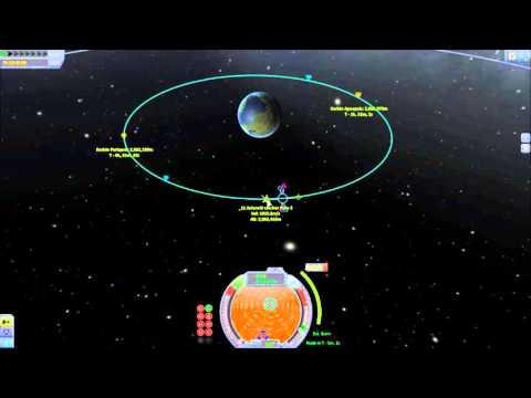 KSP Launch to Synchronous orbit