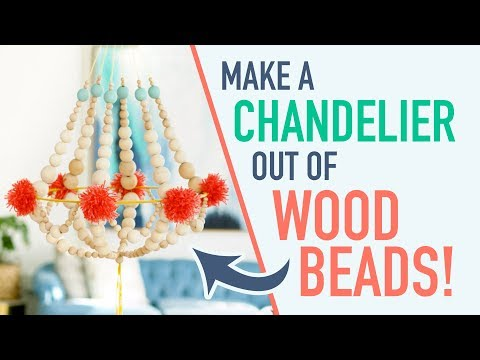 How to Make a Chandelier from Wood Beads - HGTV Handmade