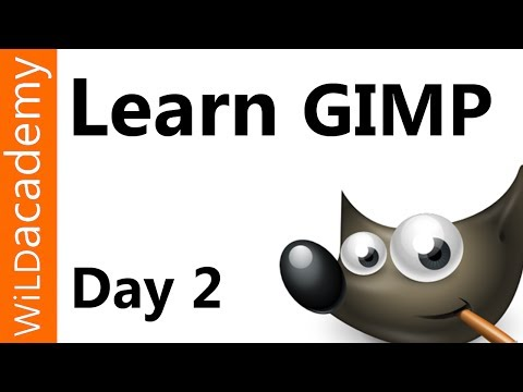 Learn GIMP Tutorial - Day 2 - Logo Design