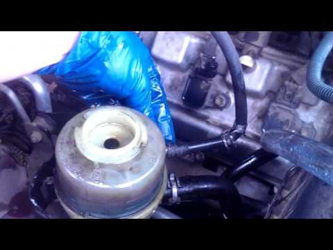 03 Tundra Power Steering Flush