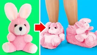34 CREEPY YET CUTE TOY HACKS || Old Toys Recycle Ideas And Miniature Barbie Doll DIYs