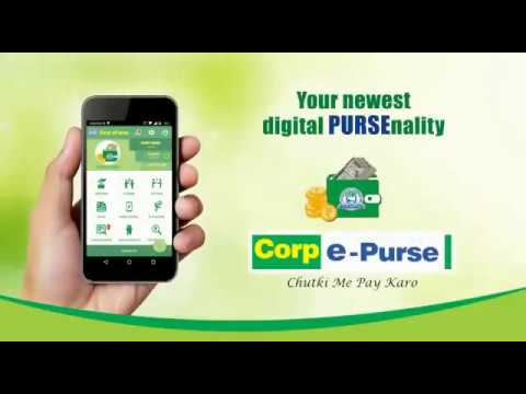 Corp E Purse wallet, Cashless transaction