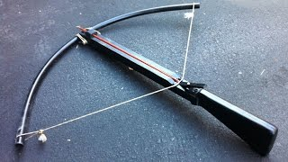 The Best homemade crossbow you