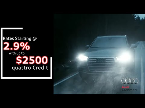 Glenmore Audi - Land of quattro Sales Event Now On, Calgary! January 2016