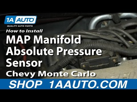 How To Install Replace MAP Manifold Absolute Pressure Sensor 3.4L Chevy Monte Carlo