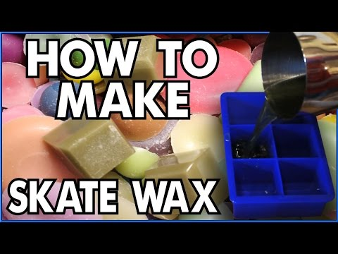 How To Make Skate Wax & Package It! Tutorial