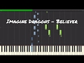Imagine Dragons - Believer Piano Tutorial