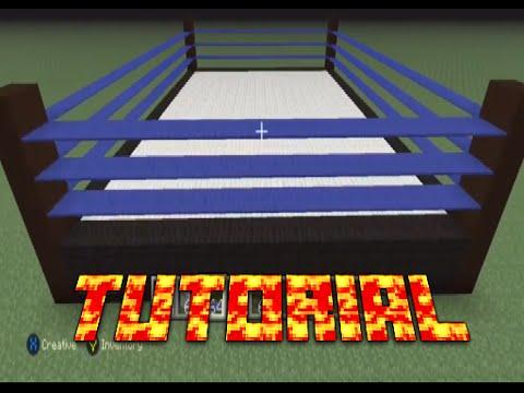 Minecraft Tutorial: Wrestling Ring