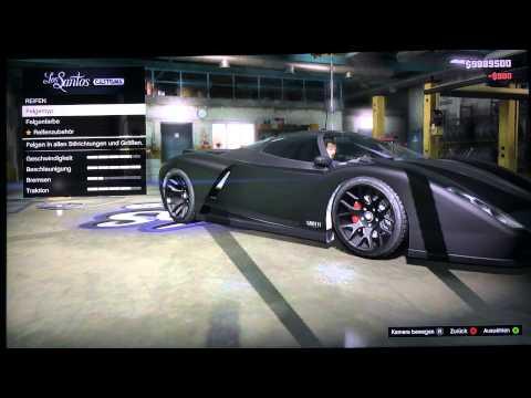 GTA 5 Online - Custom Car Builds - Batmobile v1