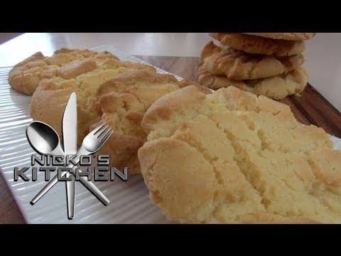 SUGAR COOKIES (4 Ingredients) - Nicko's Bakery