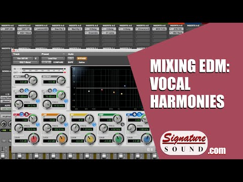 How to: Mixing Vocal Harmonies