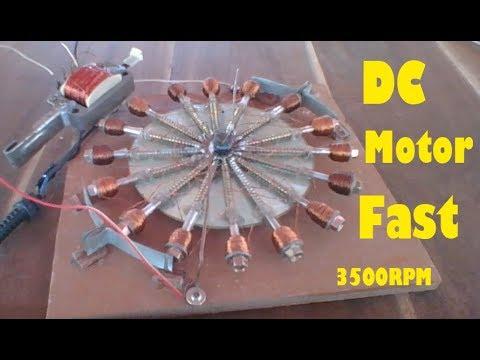 Get 6V DC from electric hair cutter, 220V Screw motor homemade 2017