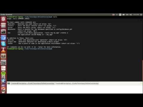 Ruby on Rails par la pratique - 5 - Modèles et migrations