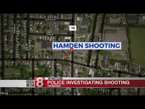 Police investigating shooting in Hamden
