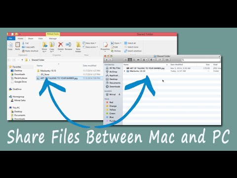 Share Files Between Your PC and MAC