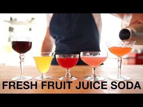 Fresh Fruit Juice Soda • ChefSteps