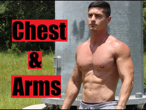 Chest and Arms Workout for Mass