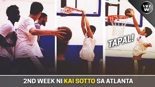 Ikalawang Linggo ni Kai Sotto sa Amerika | vs NCAA Players