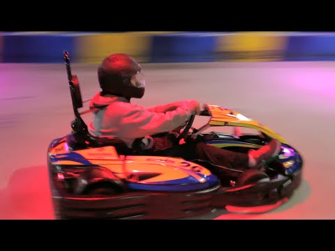 Indoor Go Kart Racing Insurance Agents try I-Drive NASCAR Orlando