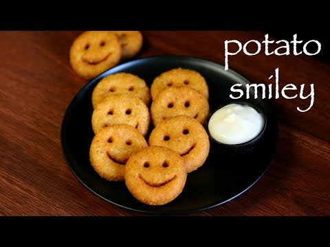 potato smiley recipe | mccain smiles recipe | how to make potato smiles recipe