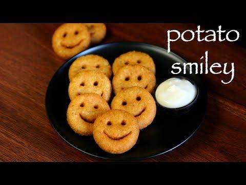 potato smiley recipe | mccain smiles recipe | how to make potato smiles recipe