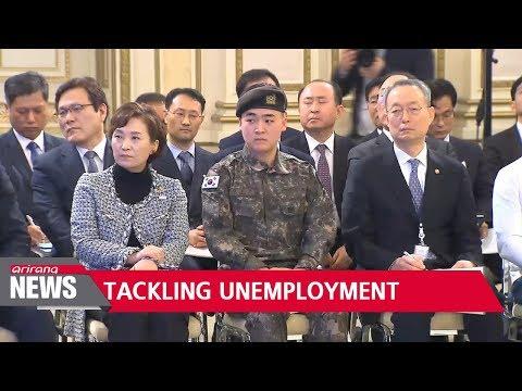 Gov't unveils measures to counter S. Korea's unemployment crisis
