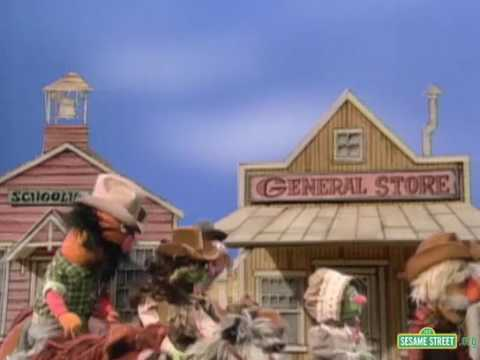 Classic Sesame Street - Readers of the Open Range visit Bisbee, Arizona