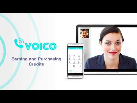 How to earn free calling credits with Voico