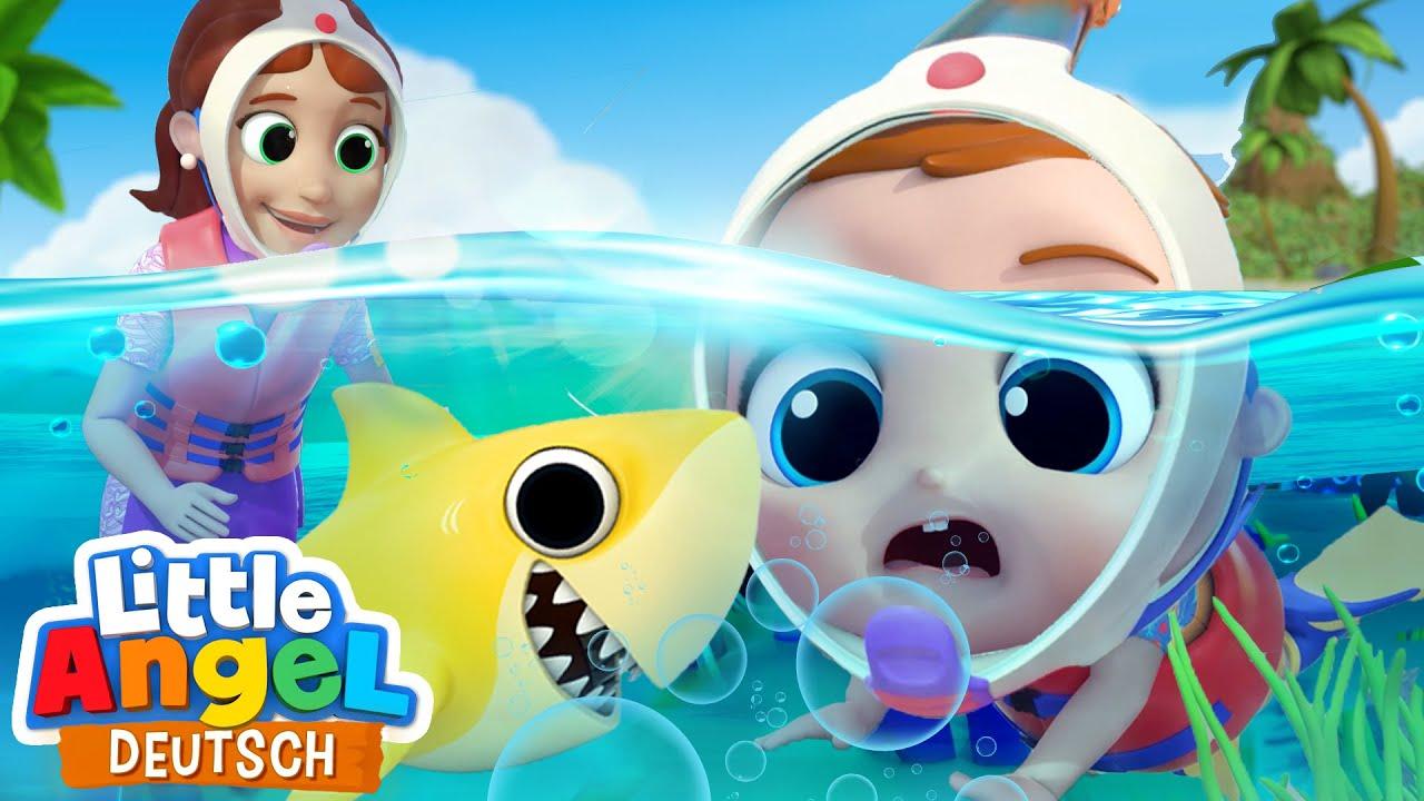 Kleine Fische im großen Meer | Zauberhafte Unterwasserwelt | Little Angel Deutsch - Kinderlieder