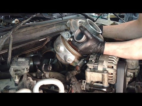 Ford 6.0L Powerstroke Turbo Removal W/ Tips!