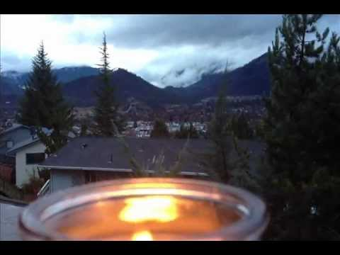 Amazing Ice Floating Mount Shasta Levitation Rainbow Weed Yreka View Candle French Press and Bacon