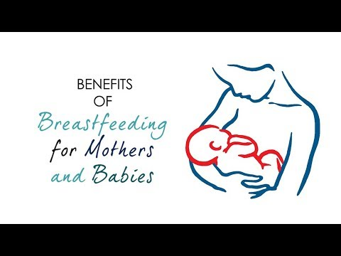 Breast milk is good for your baby in many ways