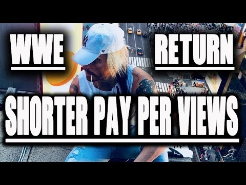 SHORTER WWE PAY PER VIEWS TIME - ENZO WRESTLING COME BACK TIME SQUARE ANNOUNCEMENT