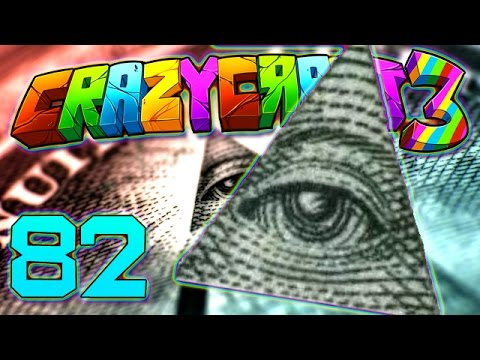 Minecraft Crazy Craft 3.0: Illuminati Prank/Gifts For All!  #82 (Moded Roleplay)
