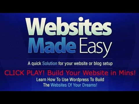 How To Make Your Own Website | Create Your Own Web Site With Wordpress!