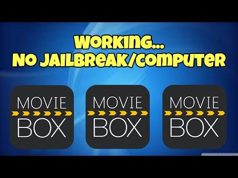 Moviebox Working no jailbreak no computer iOS 7/10.3