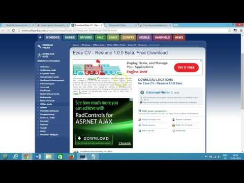 Top 5 Free Resume Builder Best Software for Windows