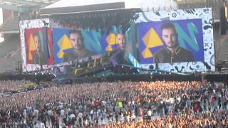 On The Road Again Opening Video - Brussels 13th June 2015