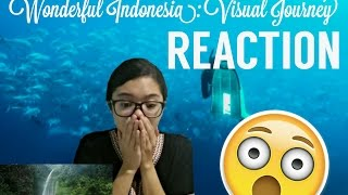 Wonderful Indonesia: A Visual Journey REACTION! | AMAZING/MAGICAL!!