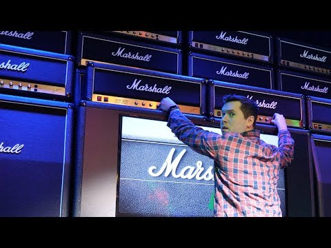 Cranking 50 Marshalls Up to 10