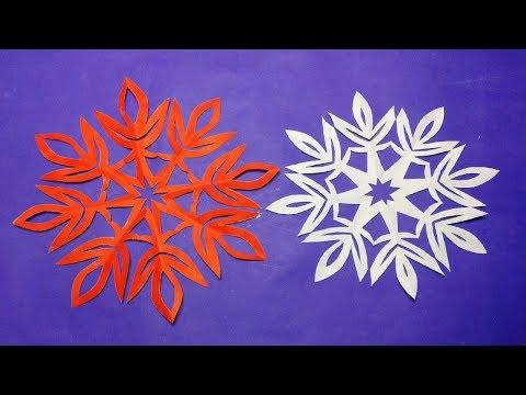 How to make simple paper cutting designs?paper flowers#DIY-paper Craft