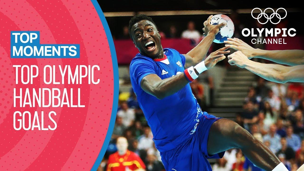 Incredible men's Handball Goals of the Olympics Games | Top Moments
