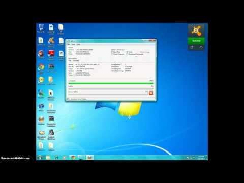 Make a windows 7 Bootable cd *burn it*