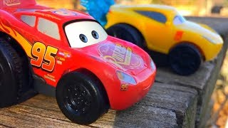 Toys For Kids, Car Toy Video, McQueen Disney Cars 3 and Friends FULL Movie Learning For Children!