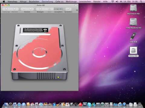 Change HD Icon Mac  Tuning and tipps Snow Leopard