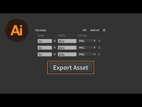 How to Quickly Export Assets in Illustrator