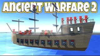 Ancient Warfare 2 Huge Update! - Pirate Ship Attack! - Let