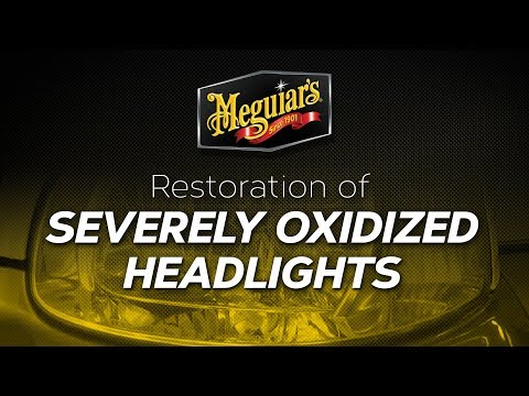 How to Restore Severely Oxidized Headlights