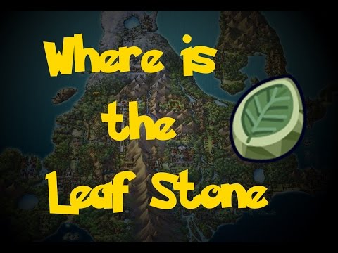Where Is: The Leaf Stone (Pokemon Diamond/Pearl/Platinum)